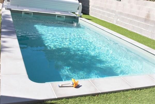 piscine béton armée